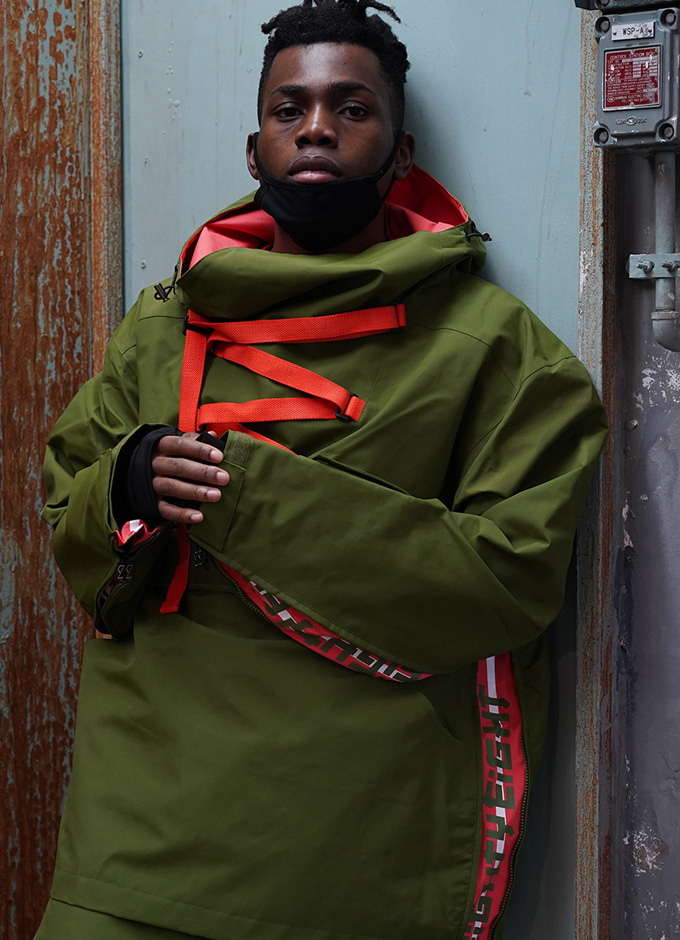 Windbreaker_J2 SAVIOR2 jkt(세이버2-khaki)
