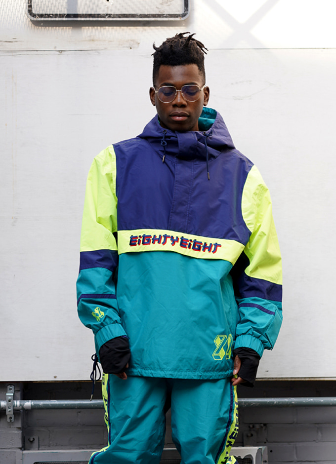 WindbreakerJ6 FOLLOW jkt(팔로우-GREEN)