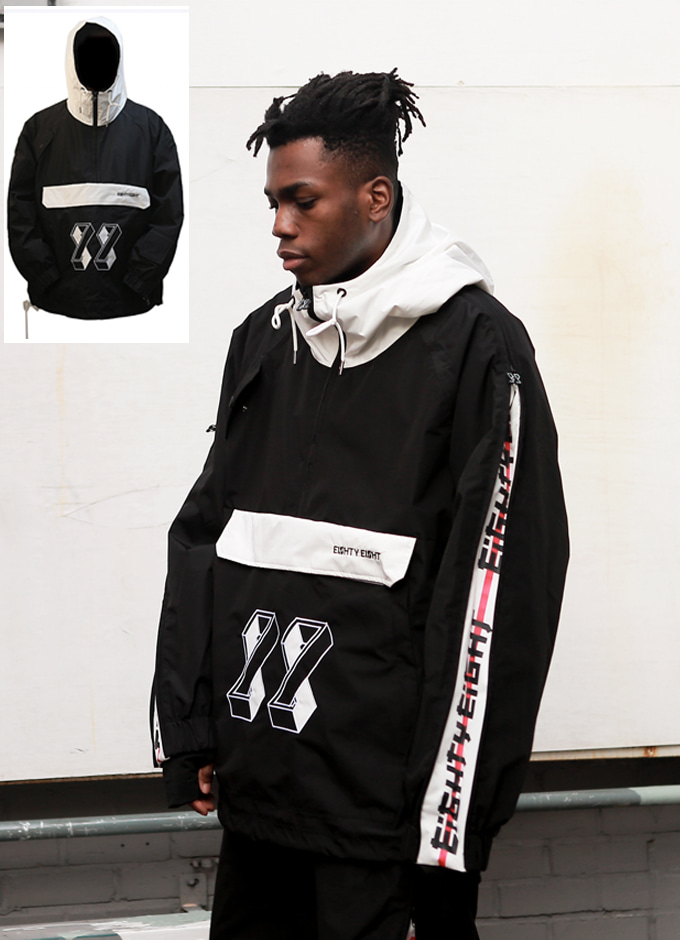 WindbreakerJ1_Boxer2 jkt(복서2-black/white)