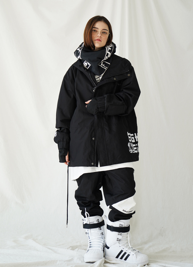 WindbreakerJ8 HAVE jkt(해브-BLACK)
